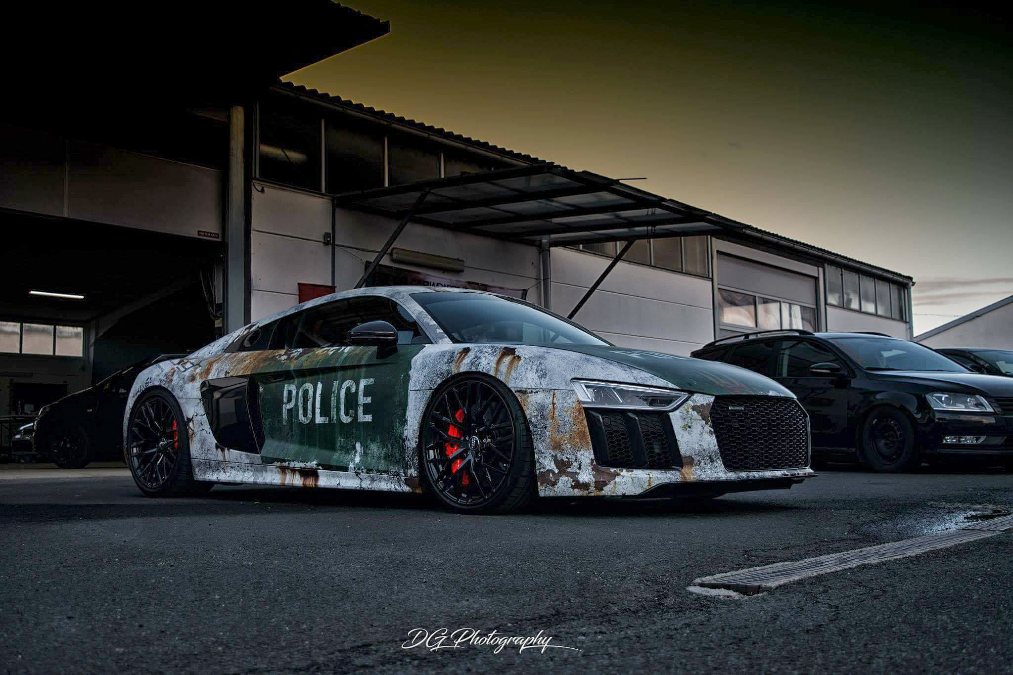 💥 Dirty Audi rusty police 💥