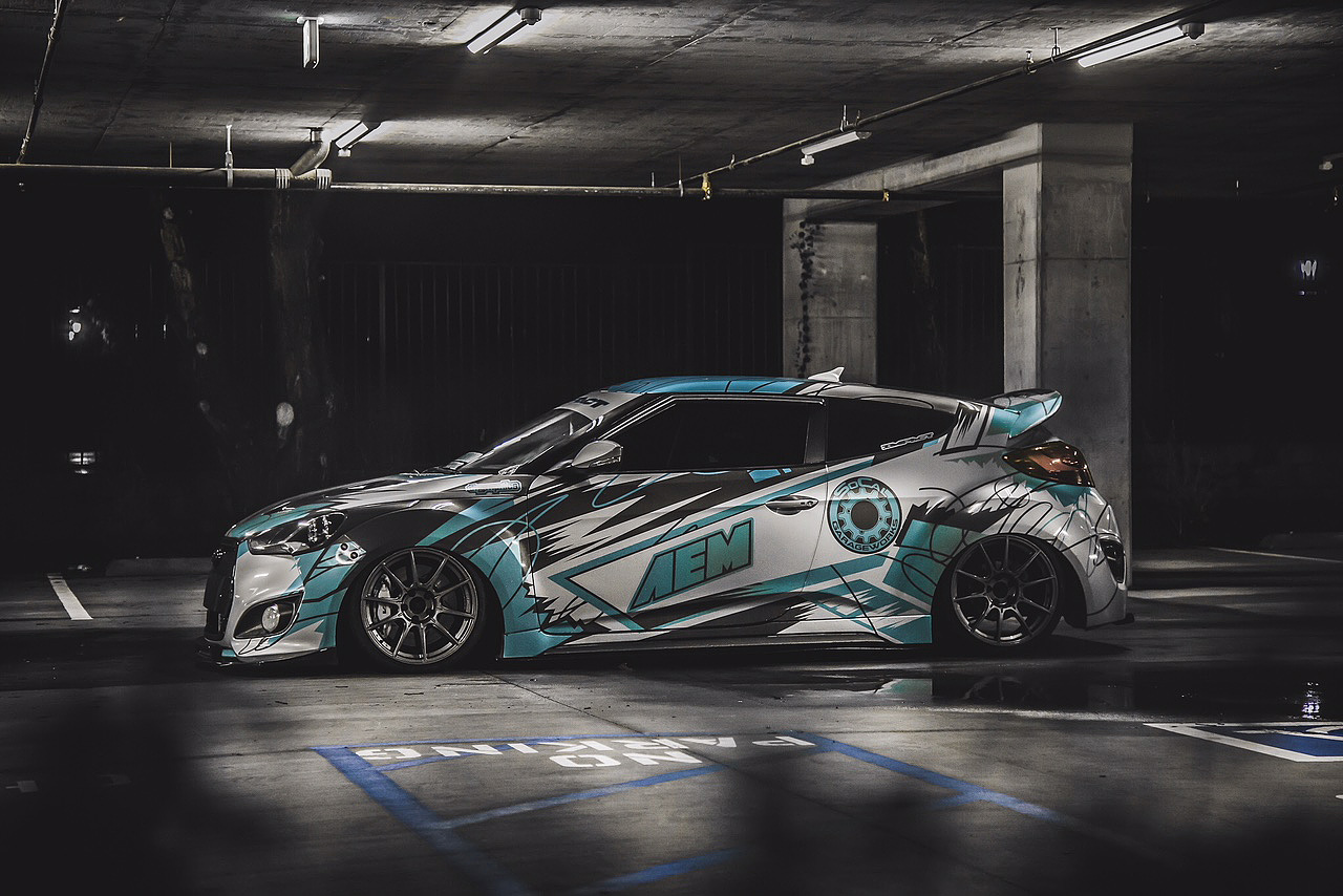 💥 Сommercial graphics for Veloster 💥
