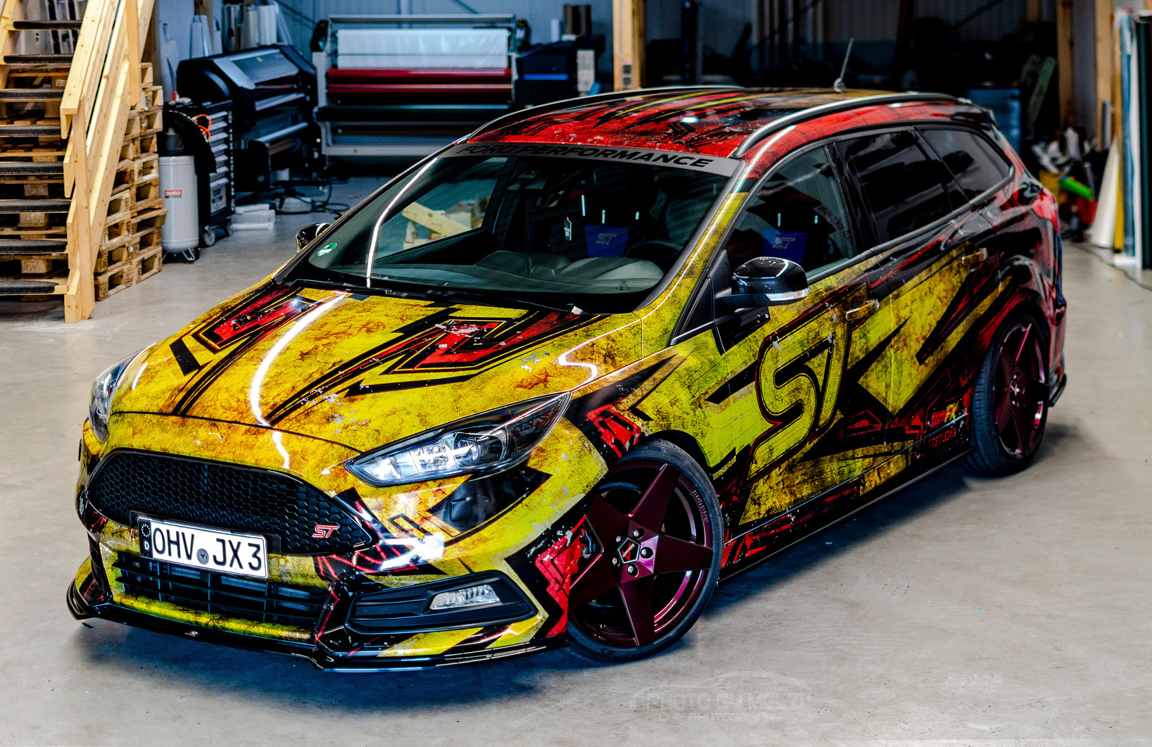 💥 Ford Focus Turnier ST — dynamic lines 💥