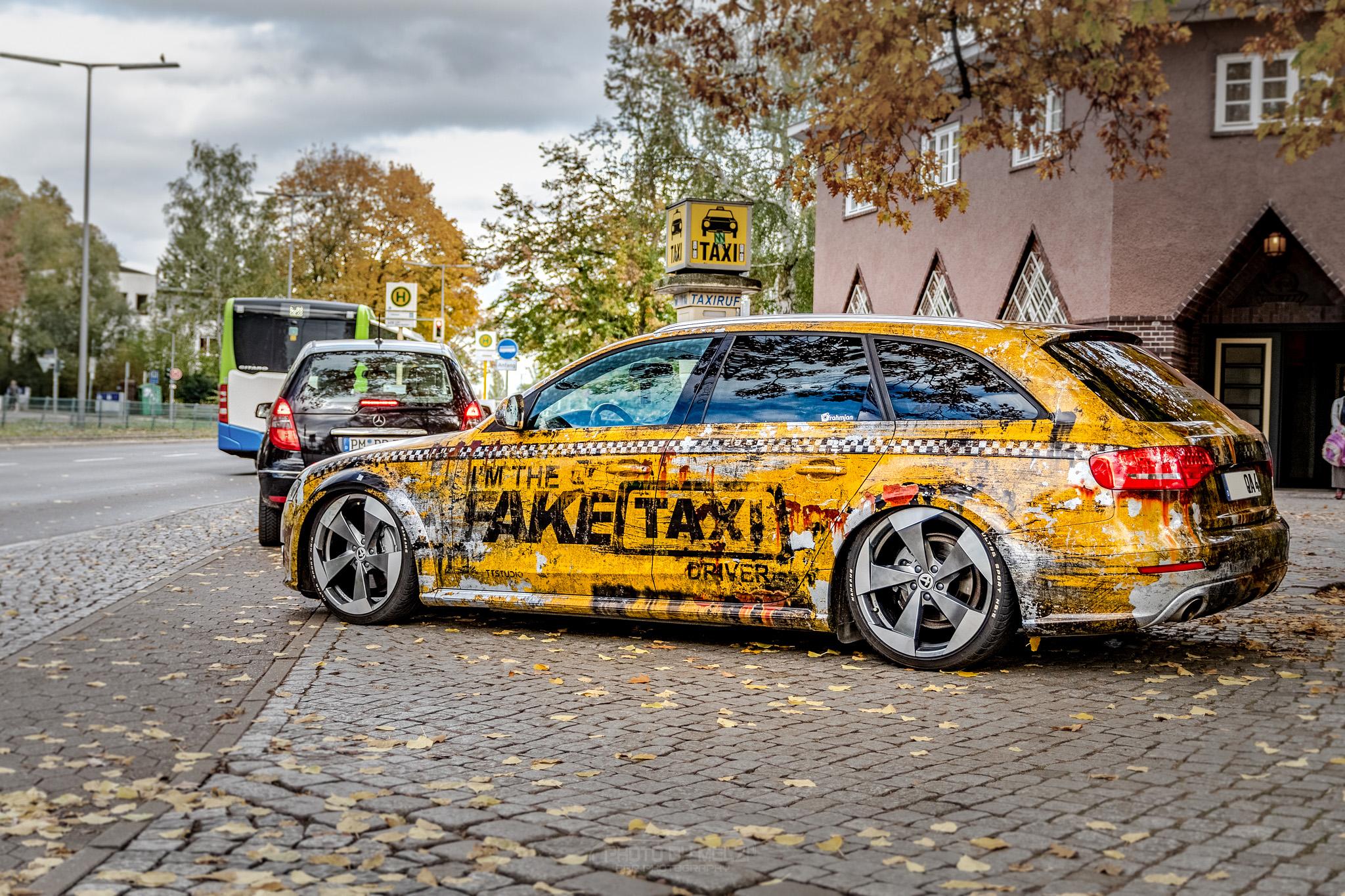 💥 Audi A4 Fake taxi 💥