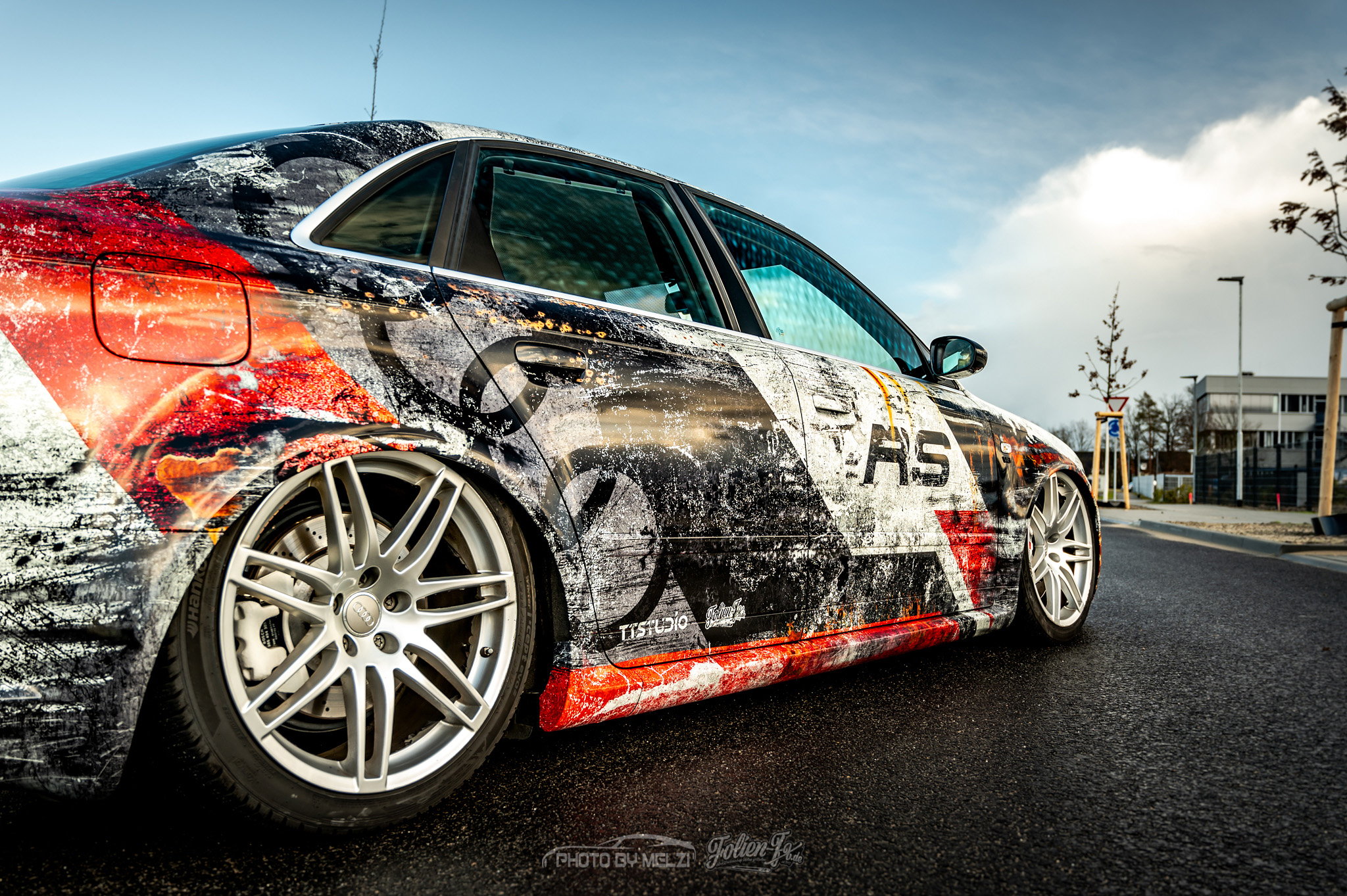 💥 Audi RS4 dirty livery 💥
