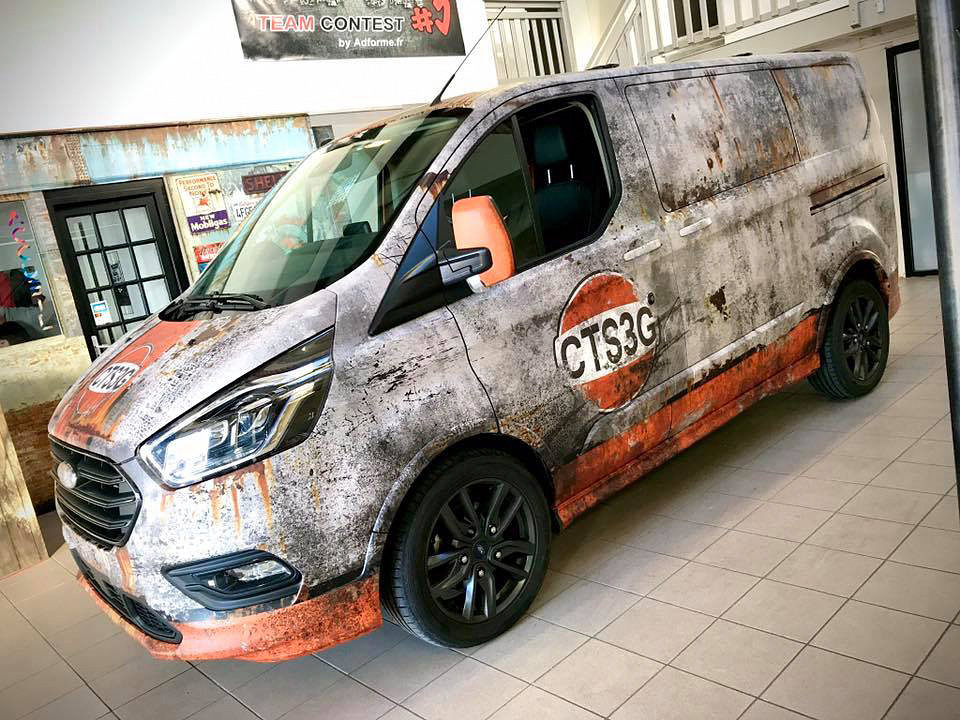 💥 Ford Transit CTS3G 💥