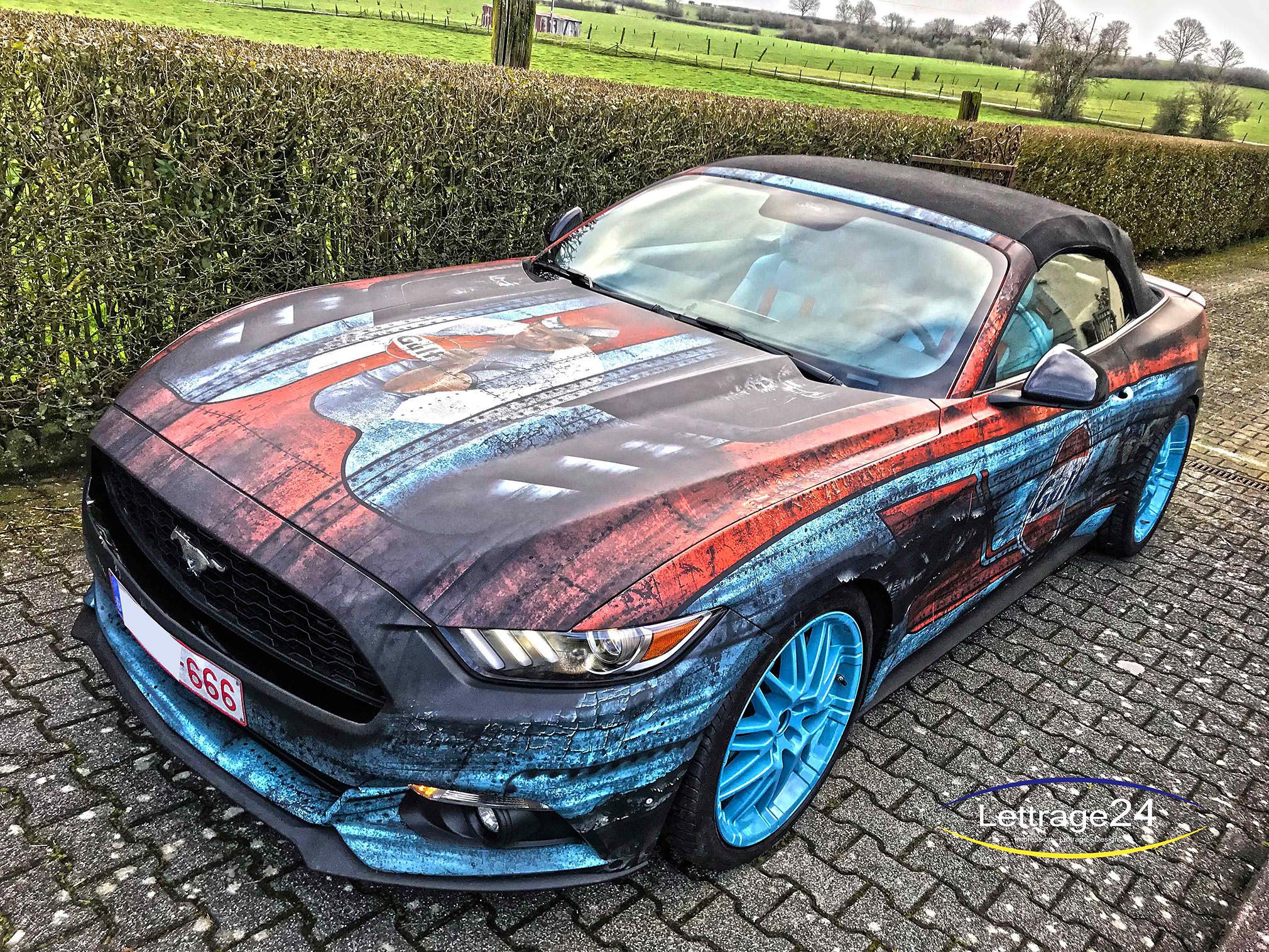 💥 Gulf Mustang 💥