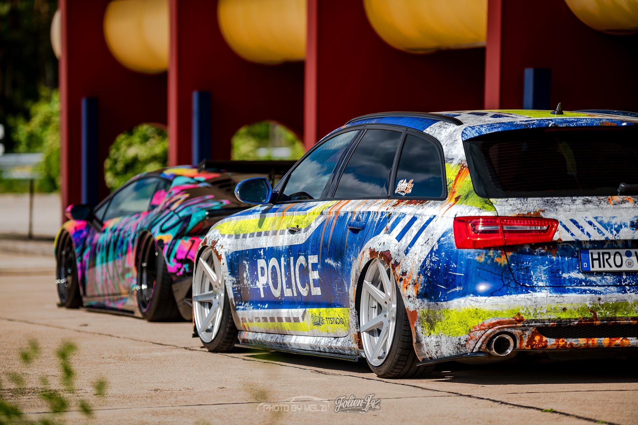 💥 Audi A6 police 💥