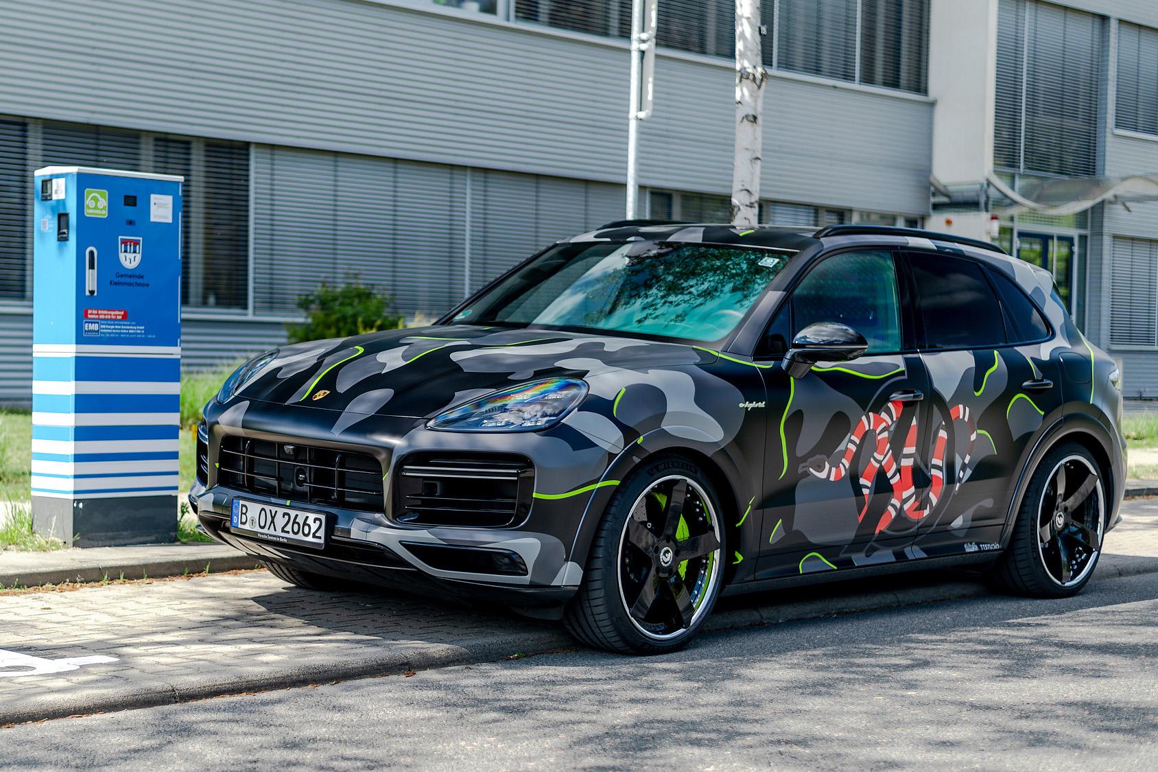 💥 Porsche Cayenne E-Hybrid Camo 💥