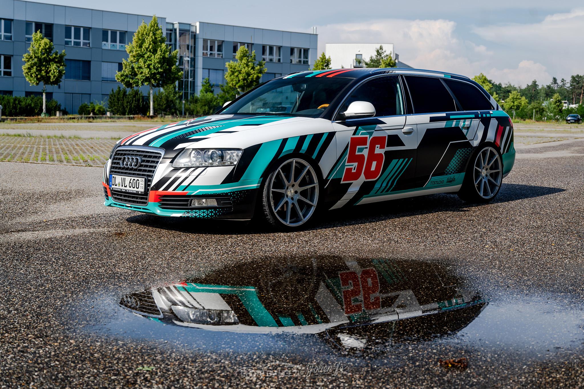 💥 Audi S6 — lines 💥
