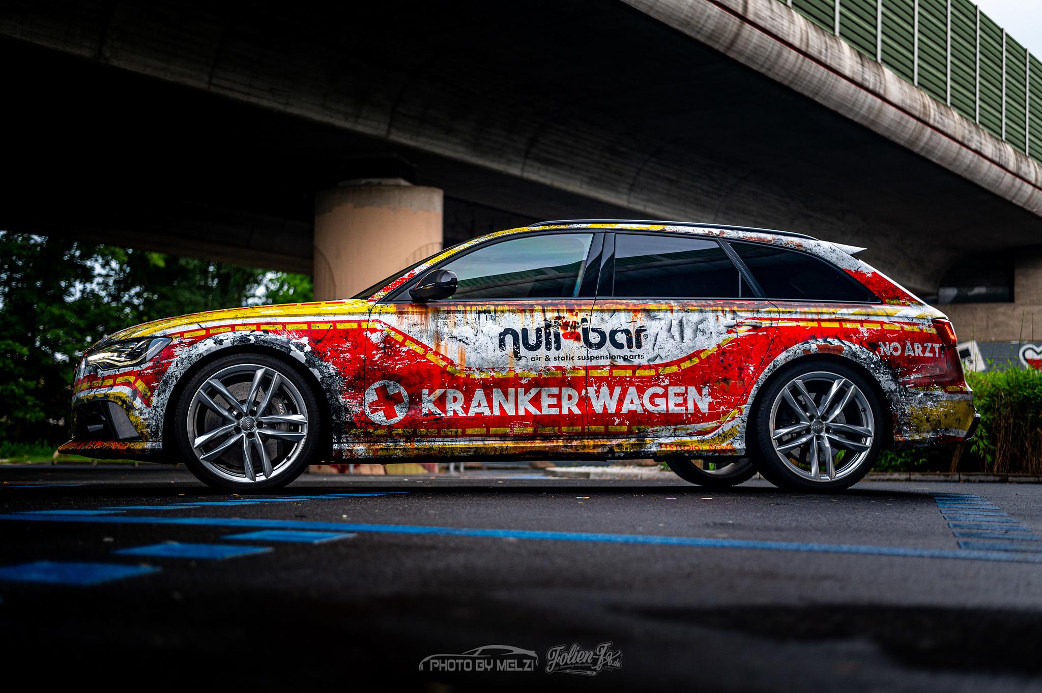💥 Audi Kranker Wagen 💥
