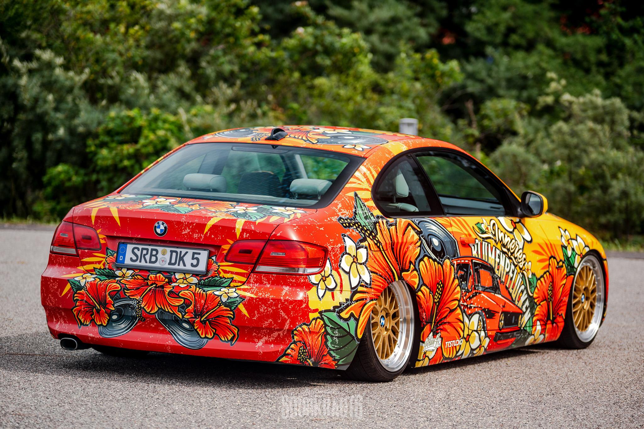 🌺 BMW E92 Inneres Blumenpflücken 🌺
