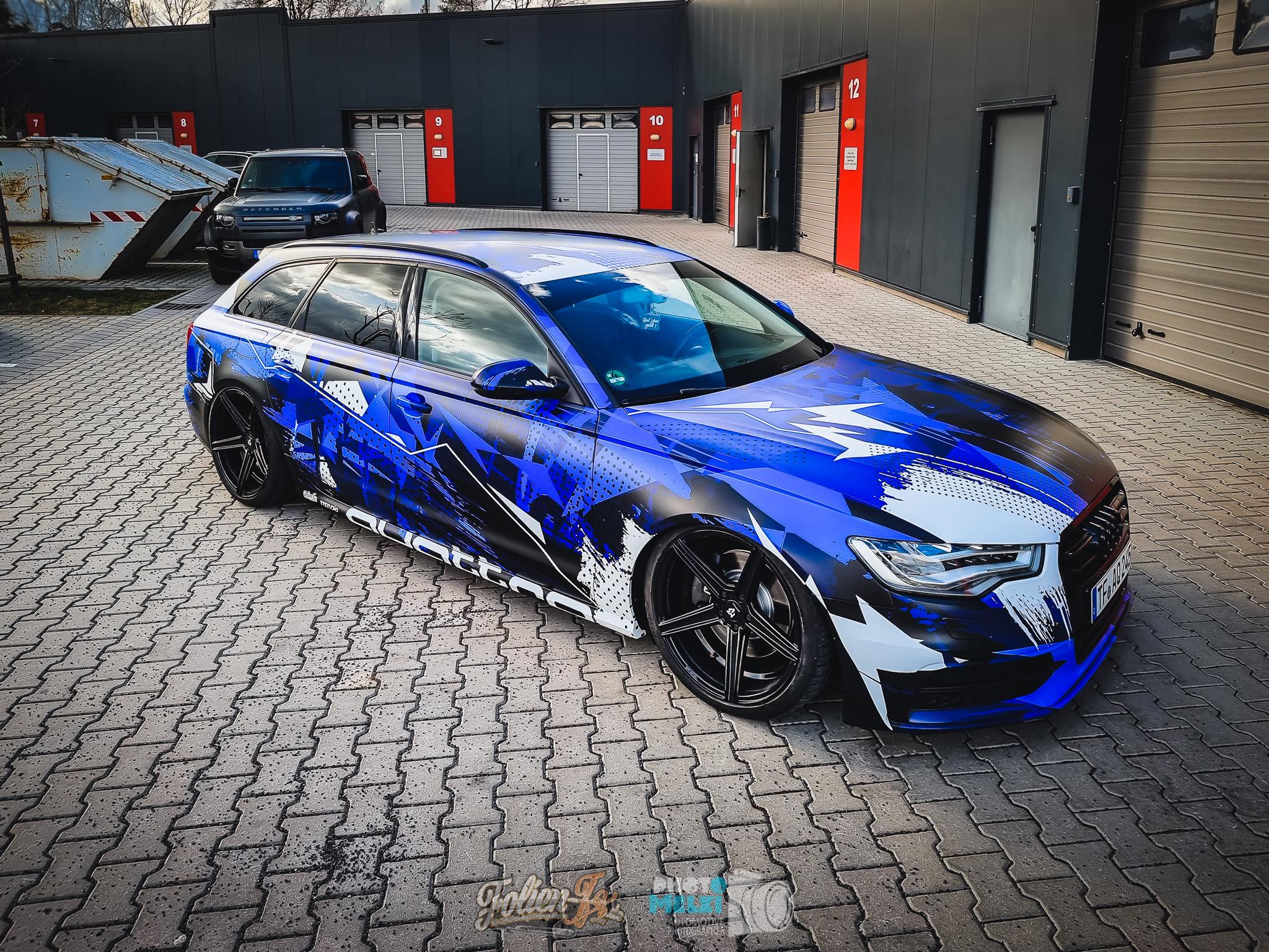 💥 Audi urban blue camo 💥